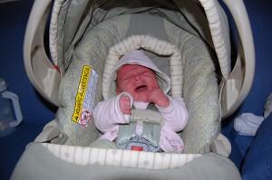 Newborn Crying in Car Seat - Suzanne Zeedyk