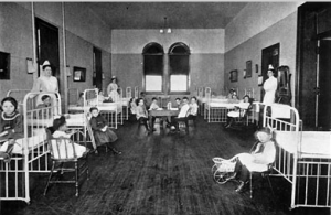 Children's hospitals 1950s