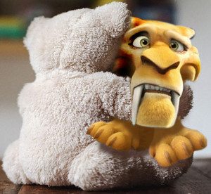 Tiger Bear Hug Fbook